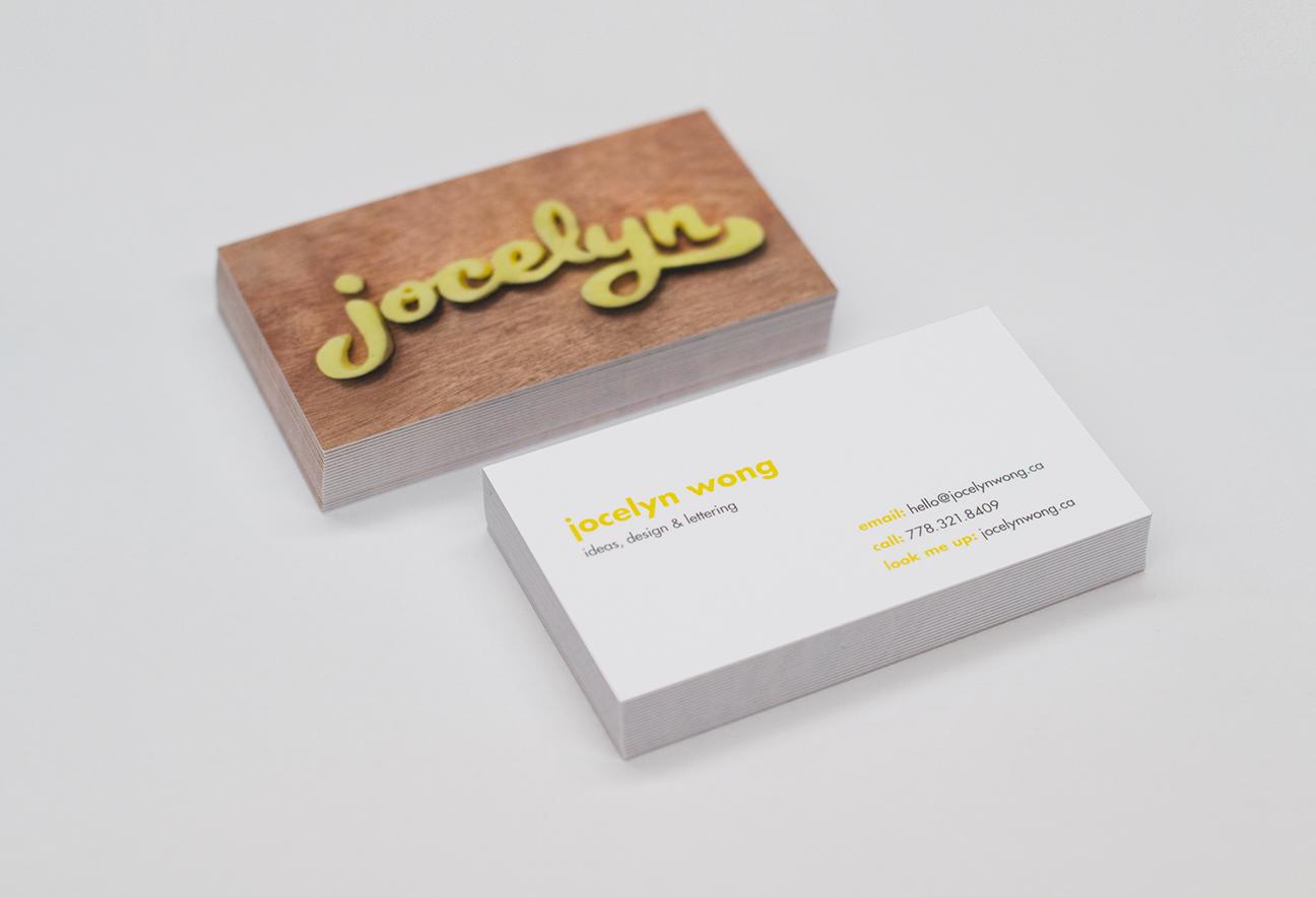 Jocelyn Wong Business Cards
