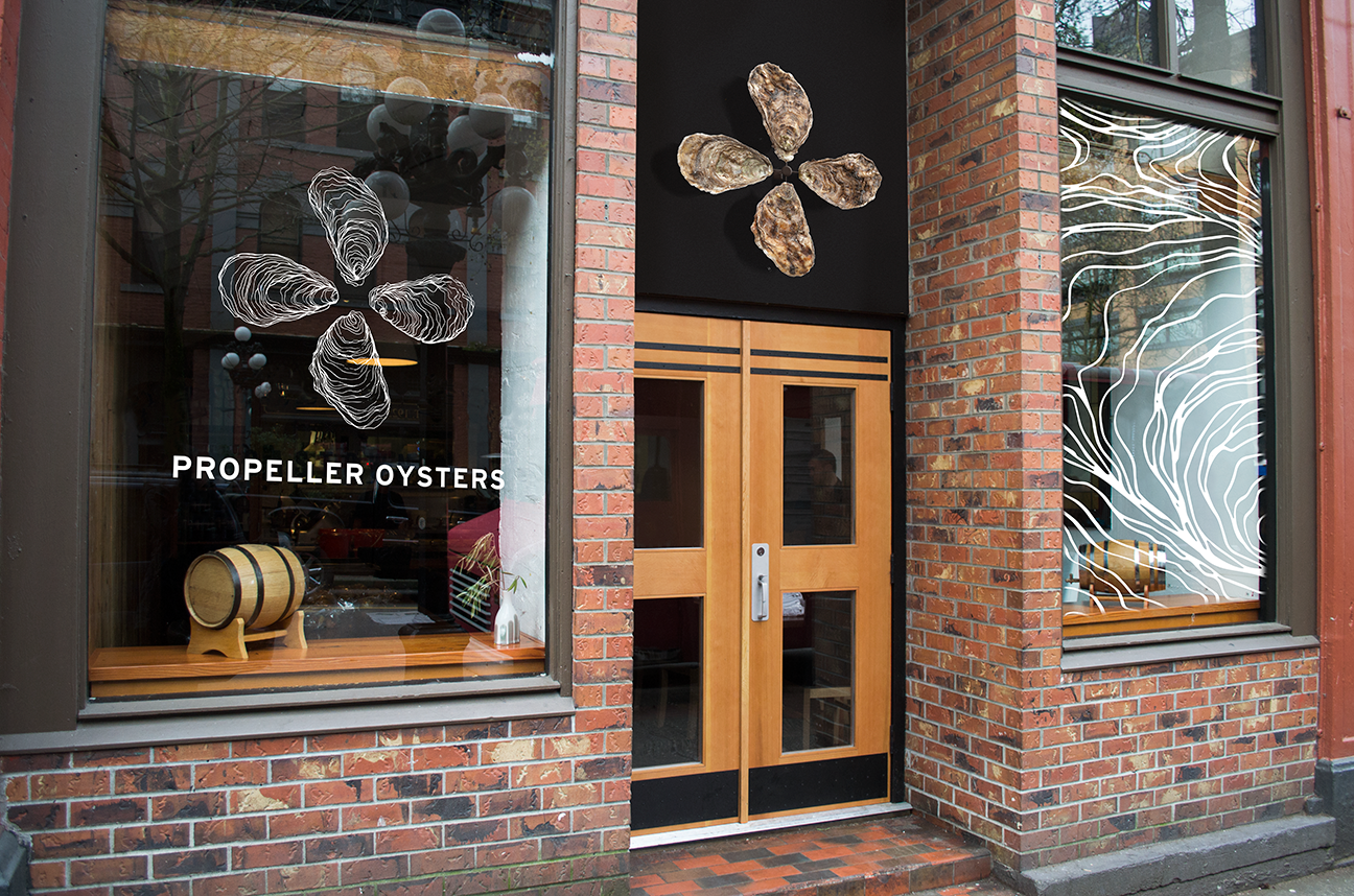 Propeller Oysters Exterior