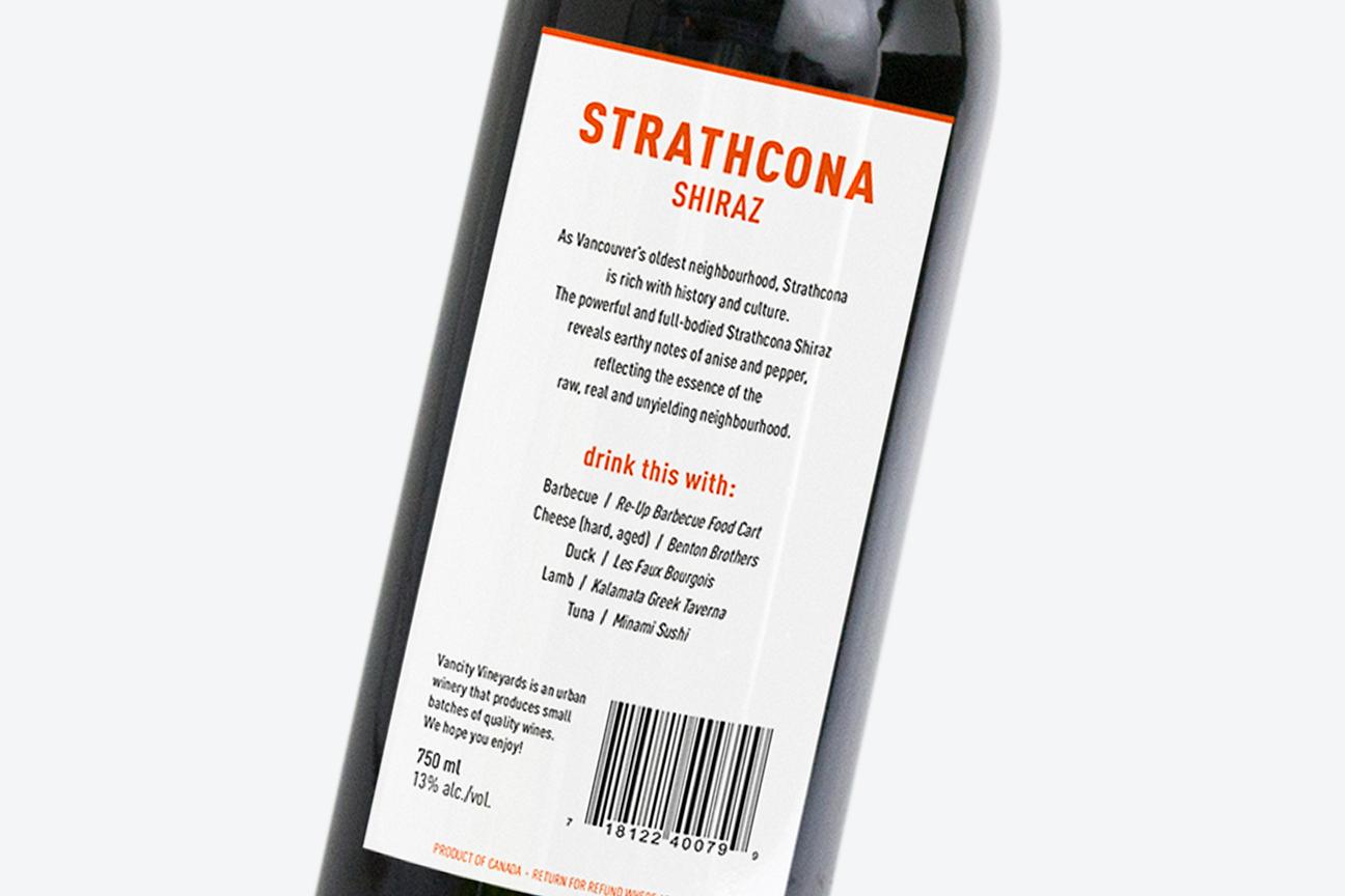 Strathcona Shiraz