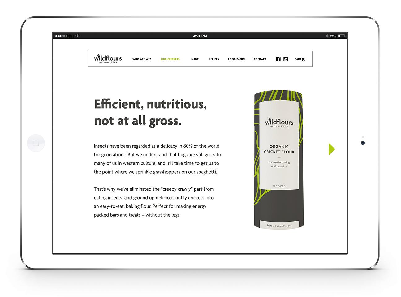 Wildflours Website